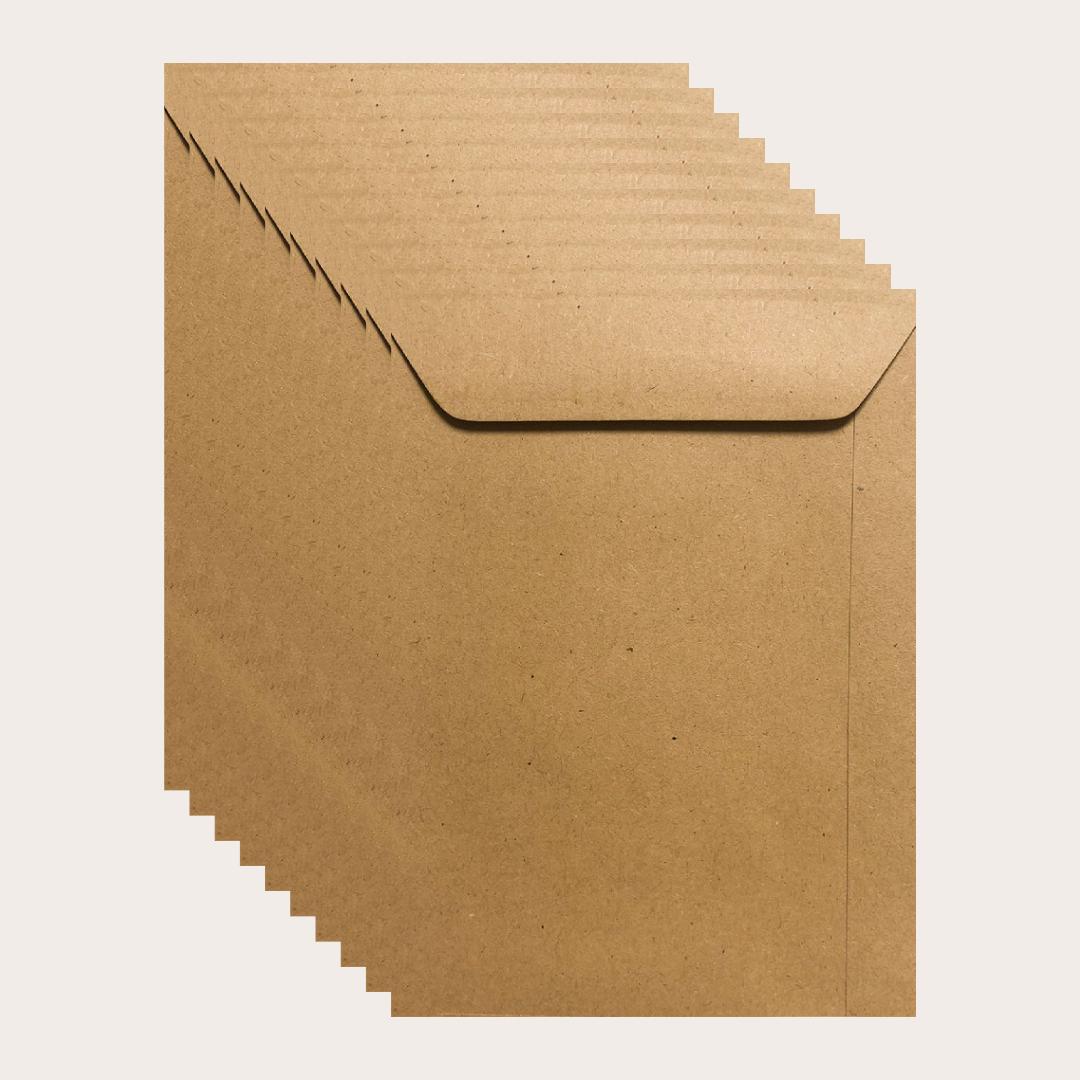 Envelop kraft dun