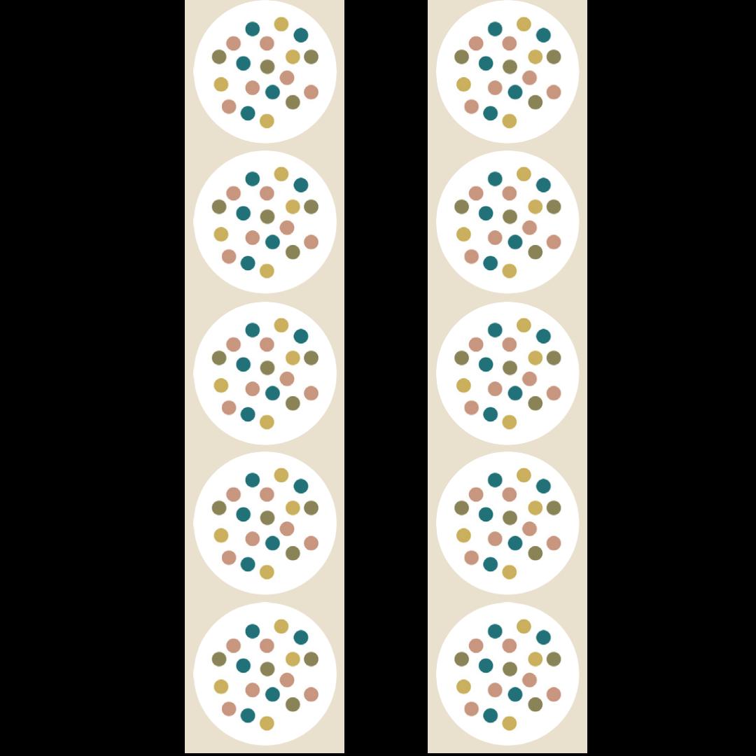 Stickers stippen