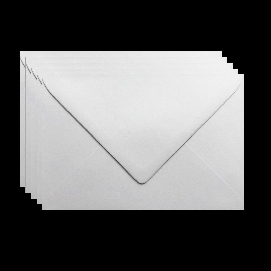 Enveloppen grijs 5 stuks