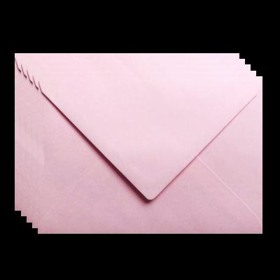 Enveloppen roze 5 stuks